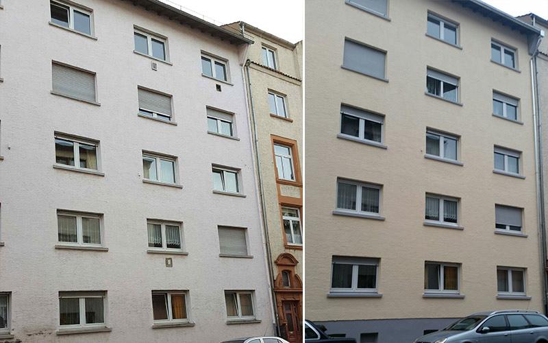 Malerarbeiten-Fassade Egelsbach